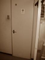 トイレドア施工前
