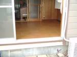 床材の変更 施工後