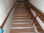 階段床材の変更 施工後