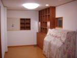 オーダーメイド仏壇スペースと本棚