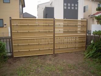 和風竹垣フェンス2