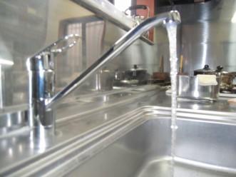 キッチンシングルレバー混合栓