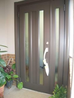 Y-玄関ドア カバー工法