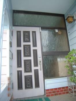 玄関ドア改修工事