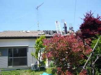 屋根葺き替え工事 Tルーフ