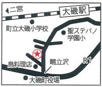 店舗併用住宅見学会 案内図